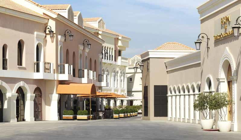 The Ritz Carlton Abu Dhabi Venetian Village Square