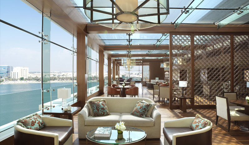 The Ritz Carlton Abu Dhabi Grand Canal Club Lounge