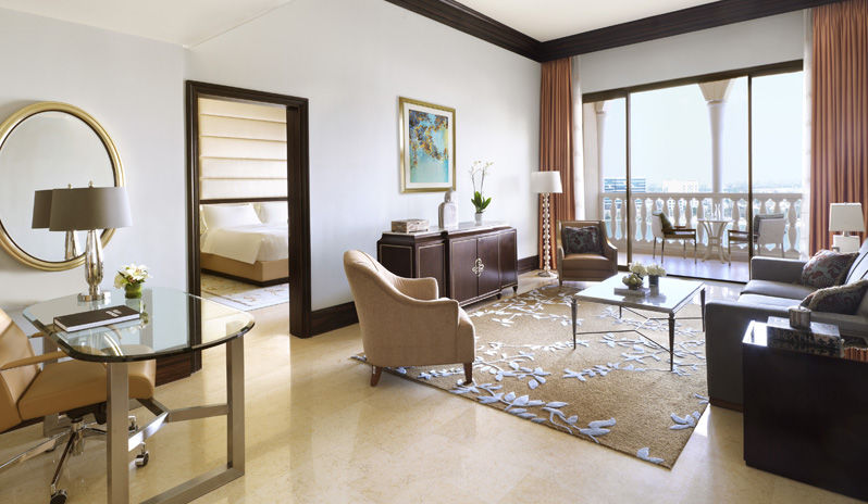 The Ritz Carlton Abu Dhabi Grand Canal Executive Suite Living Room