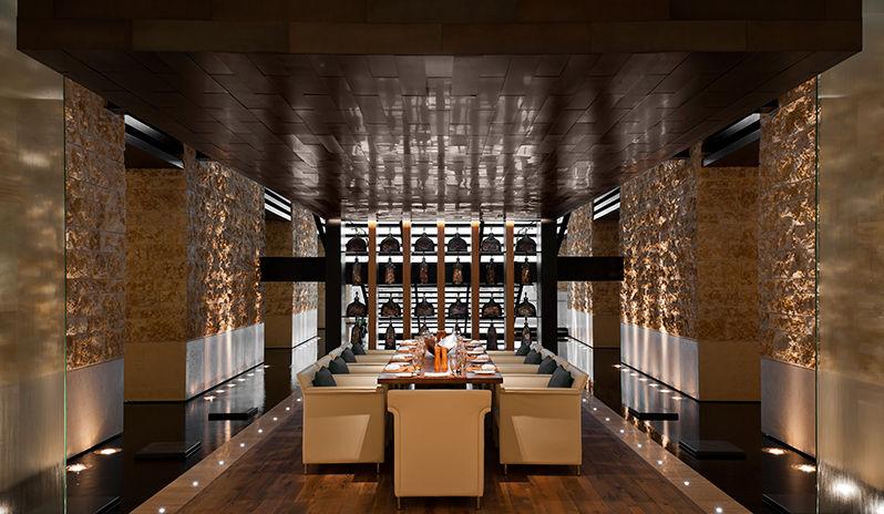 The Westin Abu Dhabi Golf Resort Spa Fairways Restaurant The Eagles Table