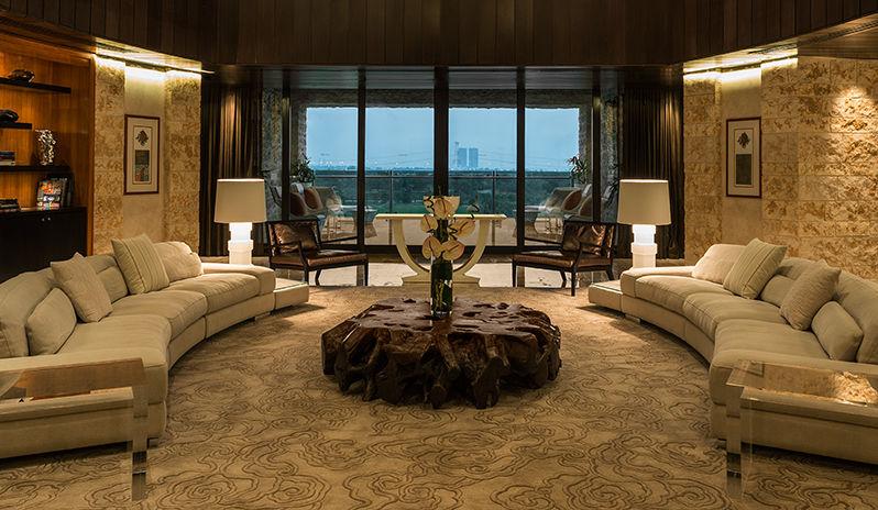 The Westin Abu Dhabi Golf Resort Spa Presidential Suite Reception Room