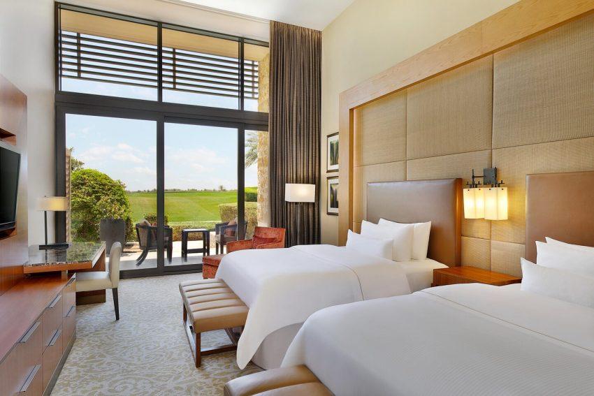 The Westin Abu Dhabi Golf Resort Spa Queen Guestroom 7574 Hor Clsc